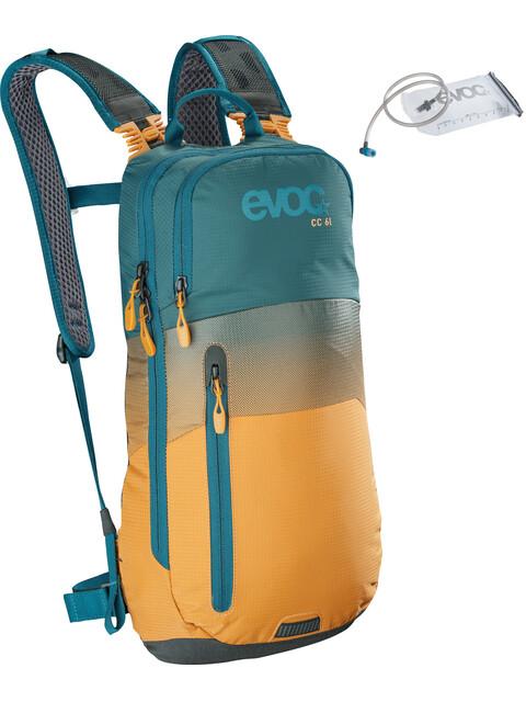 EVOC CC Lite Performance Backpack 6l + Bladder 2l Petrol/Loam